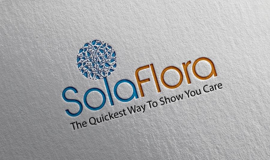 Konkurrenceindlæg #                                        43                                      for                                         Design a Logo for flower shop called sola flora