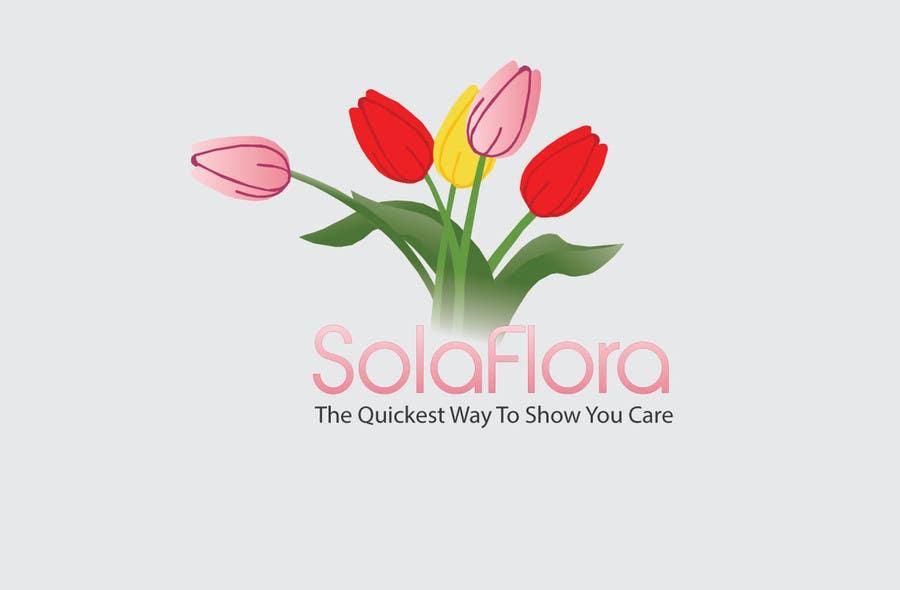 Inscrição nº 44 do Concurso para Design a Logo for flower shop called sola flora