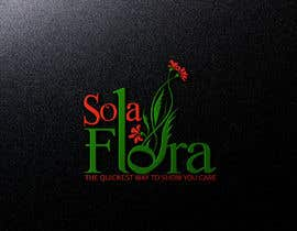 #41 cho Design a Logo for flower shop called sola flora bởi ayubouhait