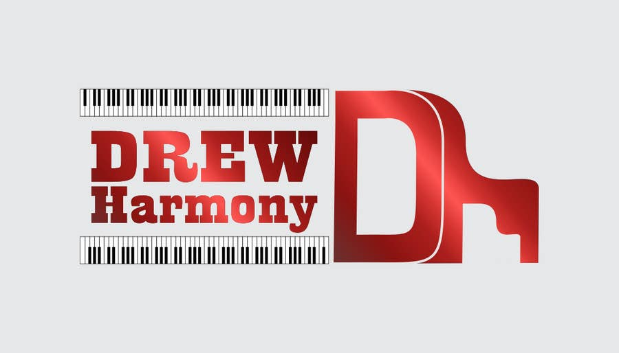 "Konkurrenceindlæg #                                        70                                      for                                         Design a Logo for My Name ""Drew Harmony"""