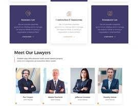 #63 untuk Web Design for an Attorney oleh ricsiecruz