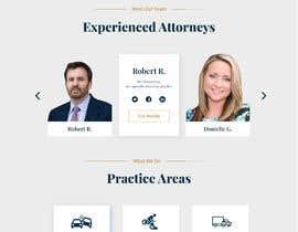 #61 untuk Web Design for an Attorney oleh Nilu3265