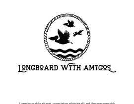 "#211 cho Logo for ""Longboard With Amigos"" (surf company) bởi imranislamanik"