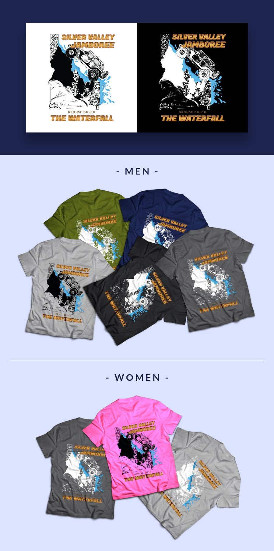 Konkurrenceindlæg #                                        54                                      for                                         Design for an event tee shirt