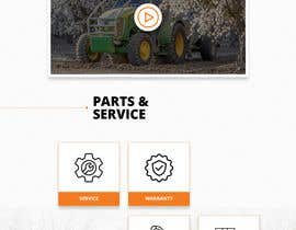 #30 for Tractor Website 1 page (+ contract-work) af iTechnoweb