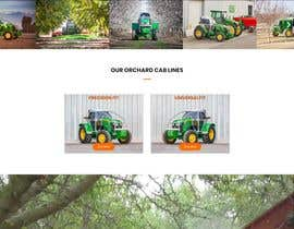 #38 for Tractor Website 1 page (+ contract-work) af dybarra