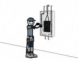 #43 for Electrician Solar Guy Graphic (Multiple Winners!) by CLOUDOFXYZ