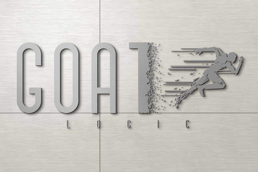 "Intrarea #                                        269                                      pentru concursul ""                                        Logo for the supplement company G.O.A.T Logic                                     """