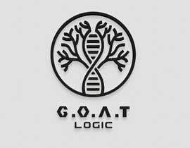 #314 for Logo for the supplement company G.O.A.T Logic af MiliArtist