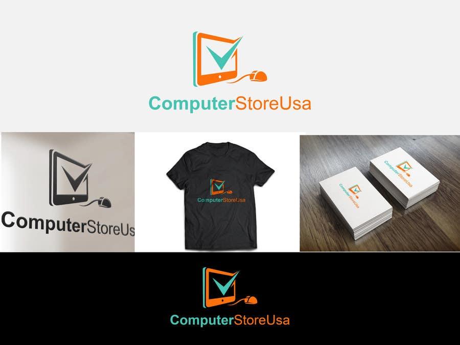 Contest Entry #                                        10                                      for                                         Design a Logo for computerstoresusa.com