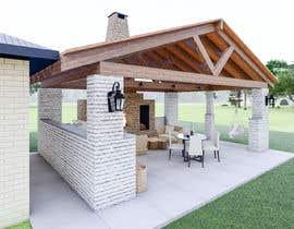 Nro 28 kilpailuun Design outdoor Patio area with kitchen käyttäjältä irmanws