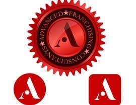 "#845 untuk Create a Logo and Favicon for my new website ""Advanced Franchising"" oleh greninja2001"