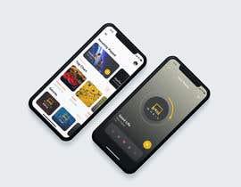 "#13 untuk ""SiMusic"" app graphic restyling (android & ios) oleh parthoprothim"