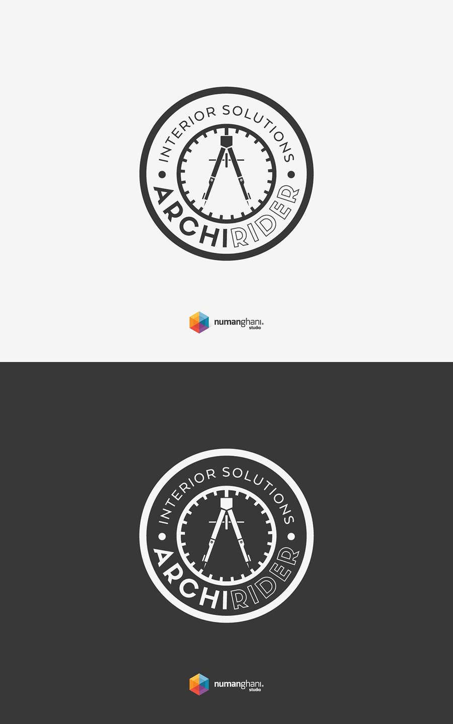 Proposition n°59 du concours Round logo for Architectural company