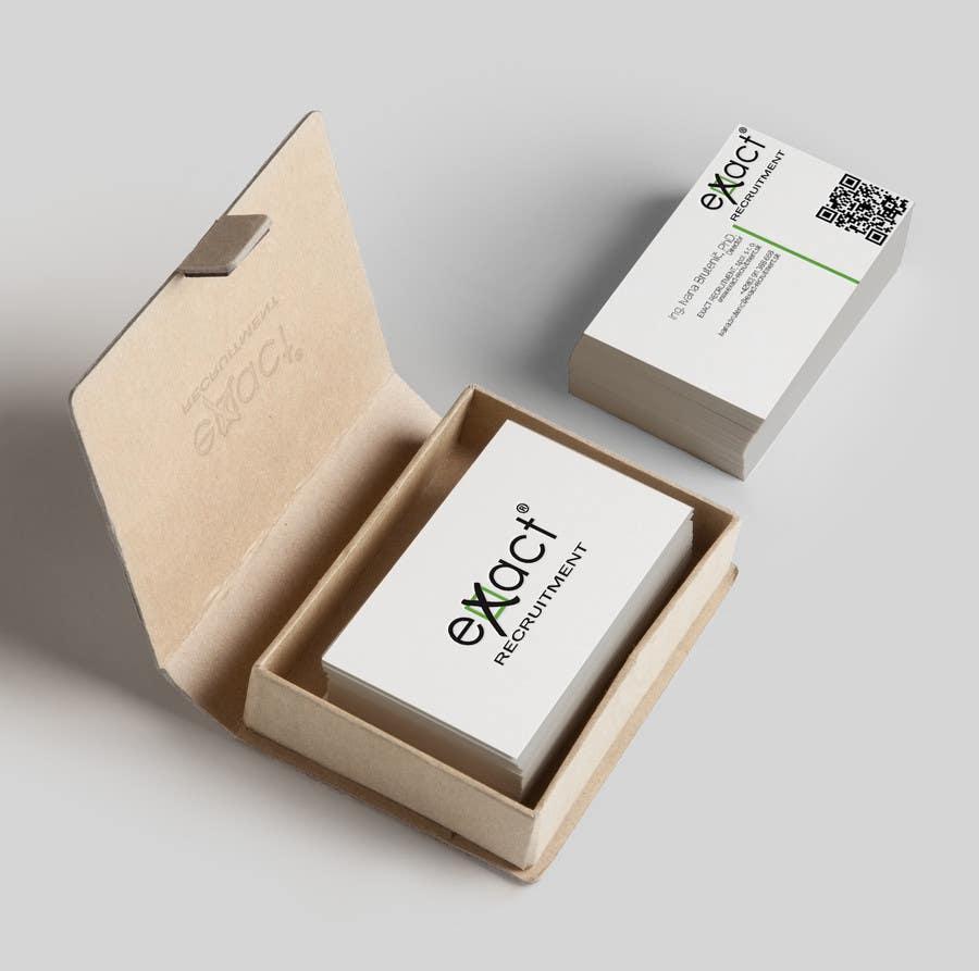 Konkurrenceindlæg #                                        85                                      for                                         Design Business Cards for Recruitment company