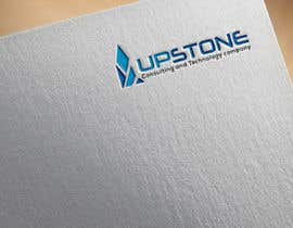 Nro 47 kilpailuun I want to create a logo for my company which us called Upstone as well as a powerpoint slide template using the colours and logo as described käyttäjältä rajibnrsns