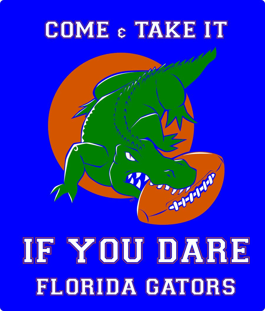 Konkurrenceindlæg #                                        17                                      for                                         Design a T-Shirt for ( Florida Gator Football )