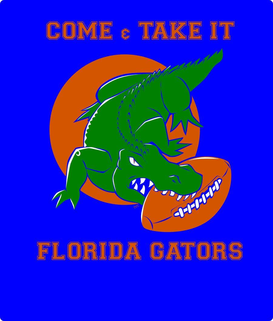 Konkurrenceindlæg #                                        22                                      for                                         Design a T-Shirt for ( Florida Gator Football )