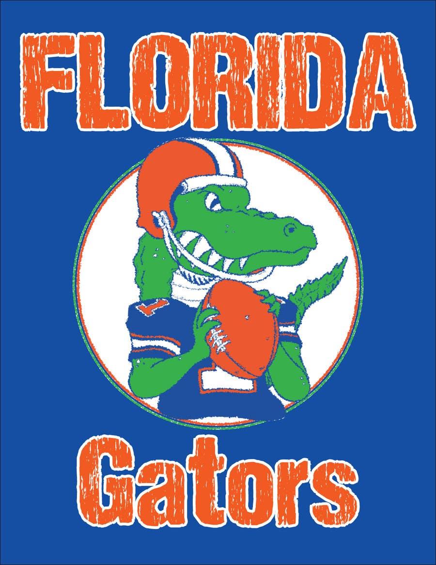 Konkurrenceindlæg #                                        29                                      for                                         Design a T-Shirt for ( Florida Gator Football )