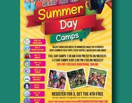 #31 untuk Summer Camp Flyer - 24/02/2021 14:39 EST oleh designconcept86