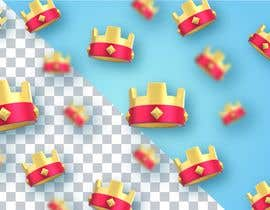 #1 untuk Draw me a background  3D Crown Low Poly oleh TEDgraphic