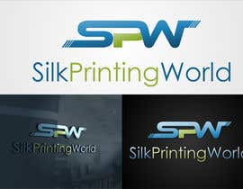 #22 cho Design a Logo for SilkPrintingWorld Company bởi mille84