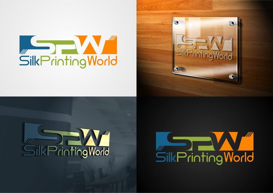 Contest Entry #50 for Design a Logo for SilkPrintingWorld Company
