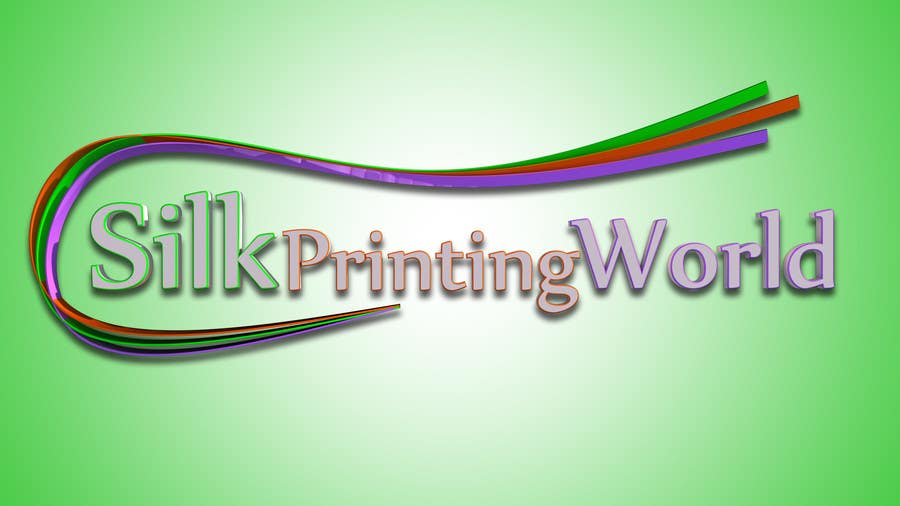 Contest Entry #8 for Design a Logo for SilkPrintingWorld Company