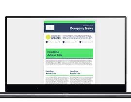 #29 для Design HTML newsletter for internal communications от themusicgap