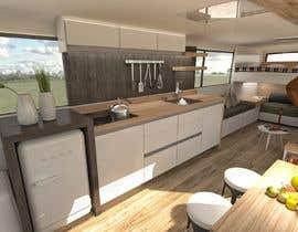 Nro 27 kilpailuun 3D House design in a BUS käyttäjältä loreliojeda