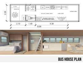 Nro 26 kilpailuun 3D House design in a BUS käyttäjältä nilubars