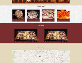 #3 para Design a Website Mockup for a pizzeria restaurant por gemmyadyendra
