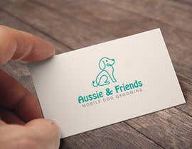 #384 for Aussie & Friends Mobile Dog Grooming LOGO af asikata
