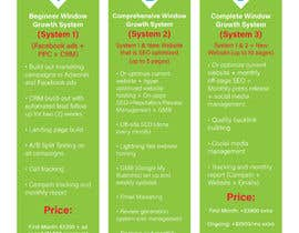 nº 6 pour Need this package pricing table turned into a professional looking and printable document par dungtran99
