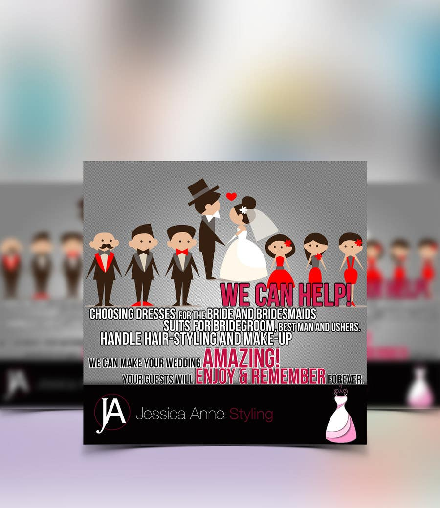 Contest Entry #                                        13                                      for                                         Design an Advertisement for Weddings
