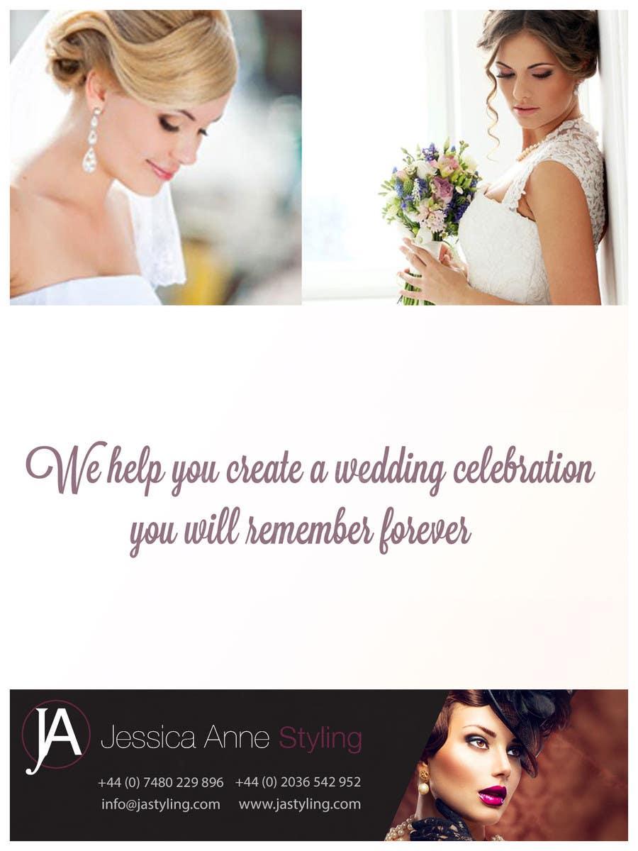 Bài tham dự cuộc thi #6 cho Design an Advertisement for Weddings