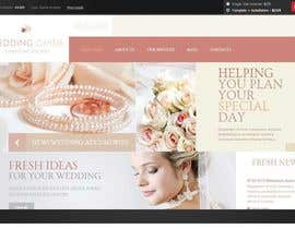 nº 16 pour Website Design for Wedding Guru par chinnapd007