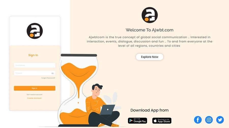 Contest Entry #                                        25                                      for                                         UI Design for web - 27/02/2021 02:12 EST