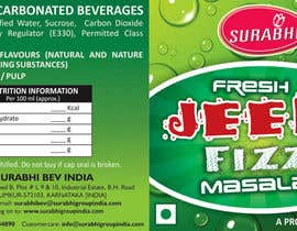 #4 para Redesigning of label for beverage por dinesh0805