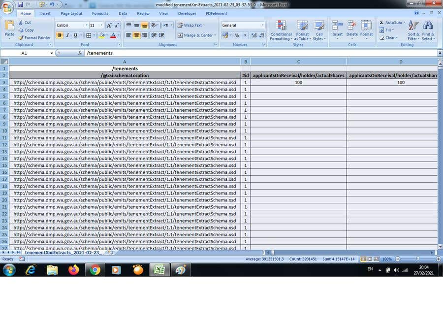 Contest Entry #                                        9                                      for                                         Combine XML files and load into excel