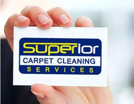"#16 para Logo Design for ""Superior Carpet Cleaning Services"" por alexandracol"