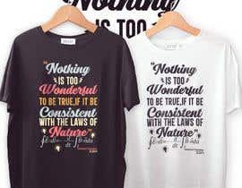 #94 cho TShirt Designs bởi rubaiyatnur
