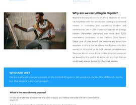 #14 for Urgent - Design one page simple website by mikailhossainbmb