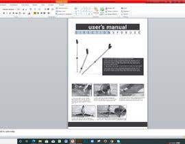 #18 for User Manual to be created from pdf in the powerpoint format by Mostaq418