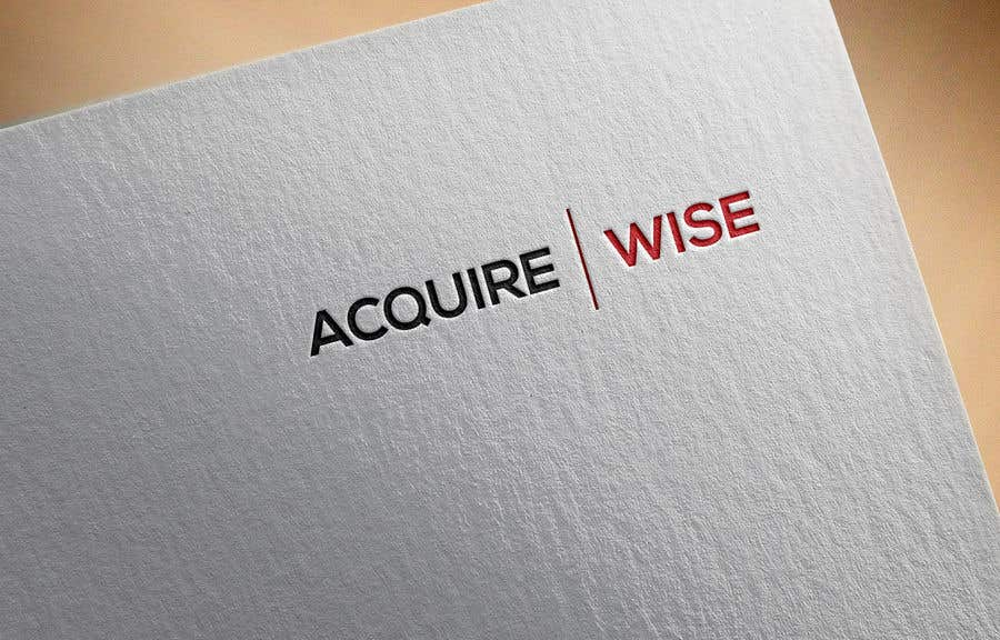 Proposition n°                                        1                                      du concours                                         A logo creating for the business name Acquirewise