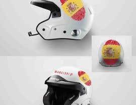 mekhter tarafından Diseño gráfico para casco automovilismo için no 3