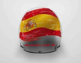 mekhter tarafından Diseño gráfico para casco automovilismo için no 4