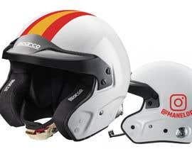 nasimulapon tarafından Diseño gráfico para casco automovilismo için no 5