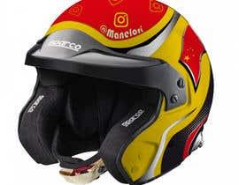 tafim00 tarafından Diseño gráfico para casco automovilismo için no 6