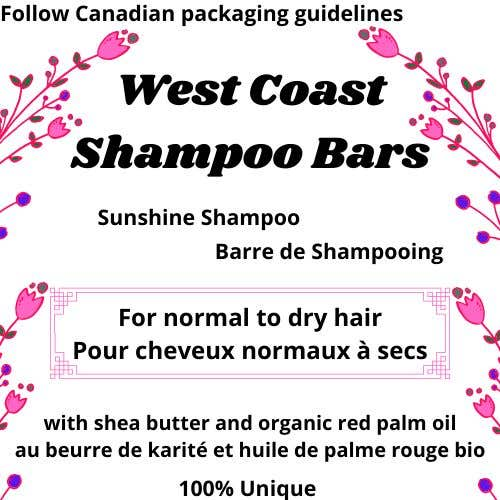 Bài tham dự cuộc thi #                                        6                                      cho                                         I need design help for packaging for shampoo and conditioner bars